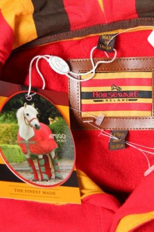 Детски суичър Horseware, Размер 8-9y/ 134-140 см, Цвят Червен, Памук, Цена 36,75лв.