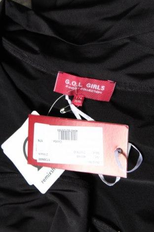Детско болеро G.o.l. Girls, Размер 15-18y/ 170-176 см, Цвят Черен, 95% полиестер, 5% еластан, Цена 3,24лв.