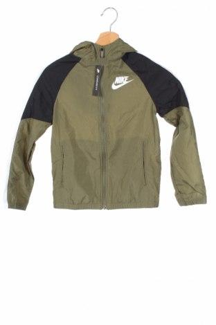 Dziecięca kurtka Nike, Rozmiar 7-8y/ 128-134 cm, Kolor Zielony, Poliester, Cena 123,75zł