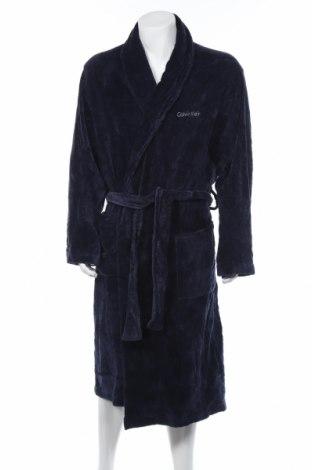 Koupací plášť Calvin Klein, Rozměr L, Barva Modrá, Bavlna, Cena  1272,00Kč