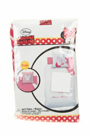 Комплект спално бельо Minnie Mouse, Цвят Бял, Памук, Цена 56,16лв.