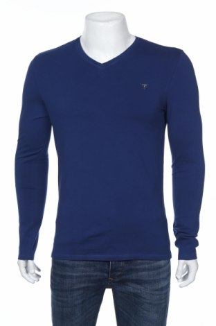Мъжка блуза Guess, Размер M, Цвят Син, 95% памук, 5% еластан, Цена 43,45лв.