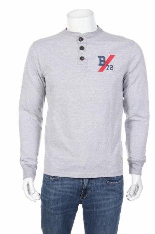 Bluză de bărbați Mo, Mărime M, Culoare Gri, 89% bumbac, 11% viscoză, Preț 48,00 Lei