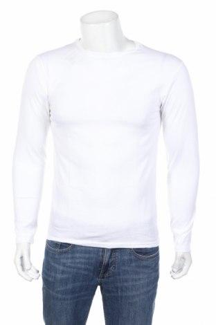 Bluză de bărbați Mo, Mărime M, Culoare Alb, Bumbac, Preț 94,74 Lei