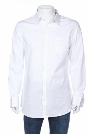 Мъжка риза Guess, Размер XL, Цвят Бял, 88% памук, 12% еластан, Цена 99,00лв.