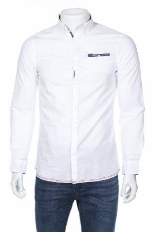 Мъжка риза Guess, Размер S, Цвят Бял, 100% памук, Цена 71,28лв.