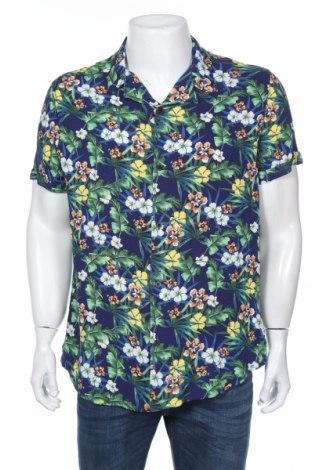 Мъжка риза Guess, Размер XL, Цвят Многоцветен, 100% вискоза, Цена 49,20лв.