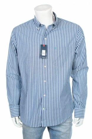 Ανδρικό πουκάμισο Izod, Μέγεθος XL, Χρώμα Μπλέ, Βαμβάκι, Τιμή 8,35€