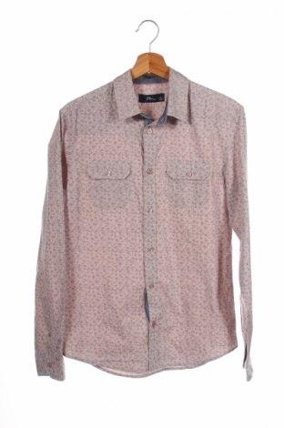 Мъжка риза Ltb, Размер S, Цвят Бежов, Памук, Цена 6,34лв.