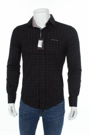 Мъжка риза Paul Smith, Размер M, Цвят Черен, Памук, Цена 51,30лв.