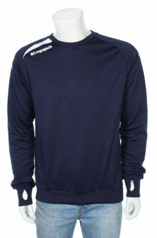 Bluză trening de bărbați Kappa, Mărime M, Culoare Albastru, Poliester, Preț 89,26 Lei