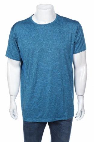 Tricou de bărbați Active&Co, Mărime XXL, Culoare Albastru, Poliester, Preț 50,40 Lei