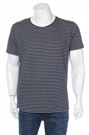 Tricou de bărbați Edc By Esprit, Mărime L, Culoare Albastru, Bumbac, Preț 40,42 Lei