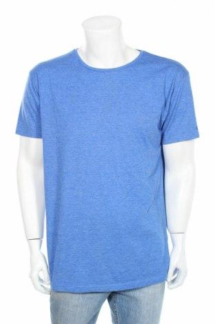 Мъжка тениска Factorie, Размер XXL, Цвят Син, 65% полиестер, 35% памук, Цена 11,03лв.