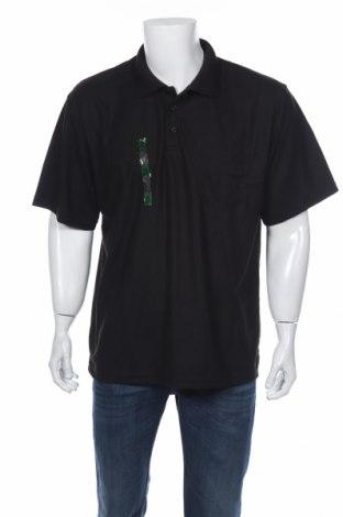 Мъжка тениска LOWES, Размер XXL, Цвят Черен, Полиестер, Цена 8,40лв.