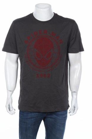 Tricou de bărbați Marvel, Mărime XL, Culoare Gri, Bumbac, Preț 41,78 Lei