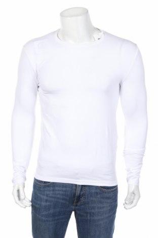 Bluză de bărbați Mo, Mărime S, Culoare Alb, 95% bumbac, 5% elastan, Preț 48,00 Lei