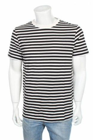 Męski T-shirt Whyred, Rozmiar L, Kolor Czarny, Bawełna, Cena 80,98zł
