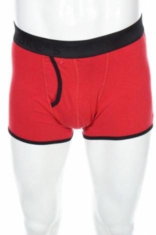 Boxeri bărbătești Jake*s, Mărime M, Culoare Roșu, 95% bumbac, 5% elastan, Preț 41,05 Lei