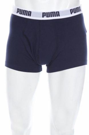 Pánske boxserky PUMA, Rozměr XL, Barva Modrá, 95% bavlna, 5% elastan, Cena  319,00Kč