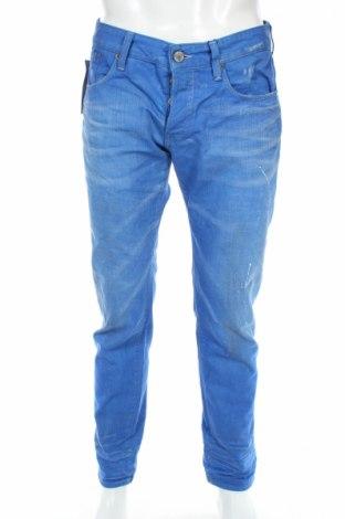 Pánske džínsy  G-Star Raw, Veľkosť L, Farba Modrá, 65% polyester, 35% bavlna, Cena  61,37€
