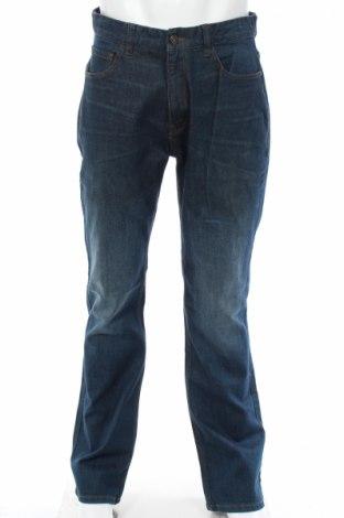 Мъжки дънки Next, Размер L, Цвят Син, 98% памук, 2% еластан, Цена 20,25лв.