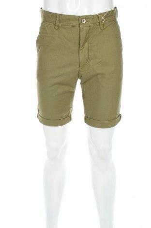 Мъжки къс панталон Esprit, Размер M, Цвят Зелен, 100% памук, Цена 27,56лв.