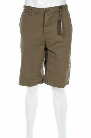 Ανδρικό κοντό παντελόνι Garcia, Μέγεθος XL, Χρώμα Πράσινο, Βαμβάκι, Τιμή 24,90€