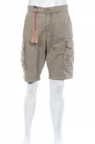 Мъжки къс панталон JP 1880, Размер L, Цвят Бежов, Памук, Цена 42,16лв.