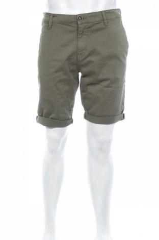 Pánske kraťasy  Tom Tailor, Veľkosť M, Farba Zelená, 98% bavlna, 2% elastan, Cena  20,68€