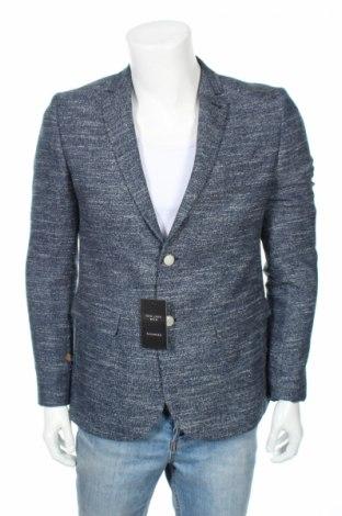 Ανδρικό σακάκι New Look, Μέγεθος M, Χρώμα Μπλέ, 80% πολυεστέρας, 20% μαλλί, Τιμή 9,84€