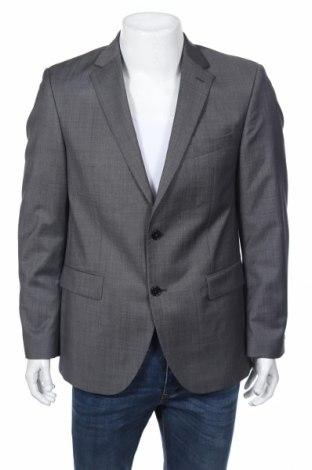Мъжко сако Pierre Cardin, Размер L, Цвят Сив, 80% вълна, 10% полиестер, 10% полиамид, Цена 171,75лв.