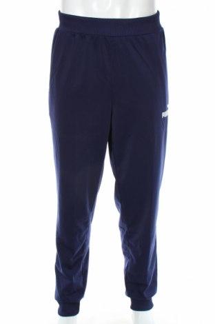 Мъжко спортно долнище PUMA, Размер XL, Цвят Син, Полиестер, Цена 36,30лв.