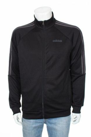 Bluză trening de bărbați Adidas, Mărime M, Culoare Negru, Poliester, Preț 162,11 Lei