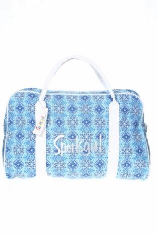 Τσάντα ταξιδιού Sportsgirl, Χρώμα Μπλέ, Κλωστοϋφαντουργικά προϊόντα, δερματίνη, Τιμή 19,87€