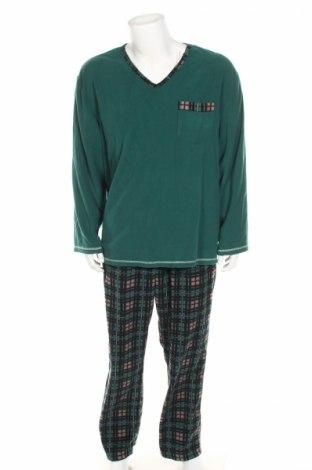 Пижама, Размер XL, Цвят Зелен, Полиестер, Цена 31,50лв.