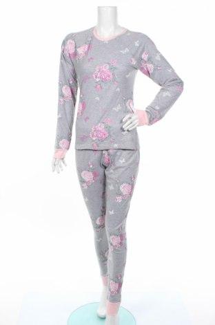 Пижама Adore, Размер S, Цвят Сив, Памук, Цена 31,68лв.