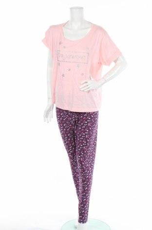 Pyžamo Adore, Veľkosť XXL, Farba Ružová, 96% bavlna, 4% elastan, Cena  14,47€