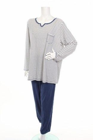 Пижама C&A, Размер XXL, Цвят Бял, 70% памук, 30% полиестер, Цена 27,36лв.