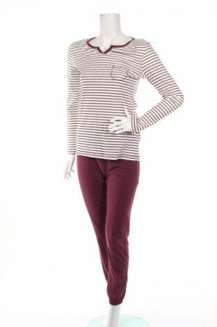 Пижама C&A, Размер XS, Цвят Бял, 70% памук, 30% полиестер, Цена 27,36лв.