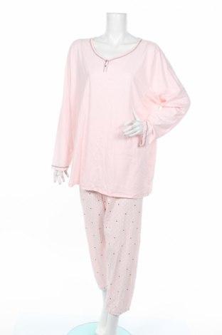 Pijama C&A, Mărime XXL, Culoare Roz, 70% bumbac, 30% poliester, Preț 110,53 Lei