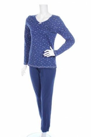 Пижама C&A, Размер S, Цвят Син, Памук, Цена 24,36лв.