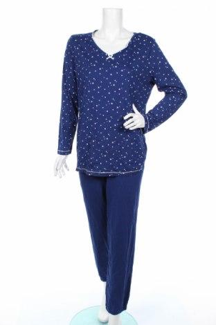 Пижама C&A, Размер L, Цвят Син, Памук, Цена 30,24лв.