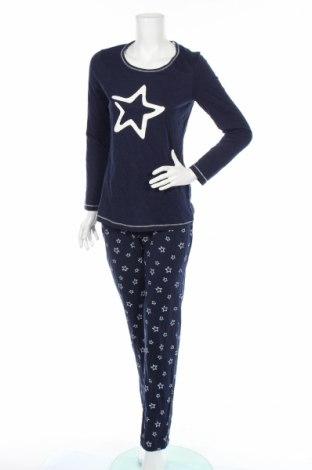 Пижама C&A, Размер S, Цвят Син, 80% памук, 20% полиестер, Цена 27,36лв.