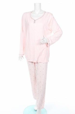 Пижама C&A, Размер XL, Цвят Розов, 70% памук, 30% полиестер, Цена 30,24лв.