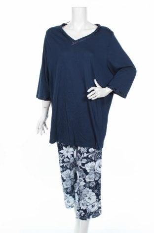 Pijama C&A, Mărime XXL, Culoare Albastru, Bumbac, Preț 94,74 Lei