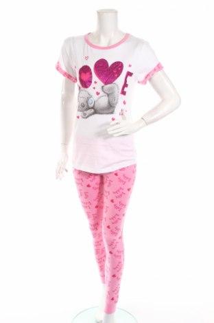 Пижама Me to You, Размер M, Цвят Розов, Памук, Цена 30,24лв.