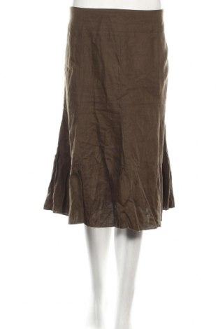 Пола Anthea Crawford, Размер XL, Цвят Зелен, 100% лен, Цена 12,60лв.