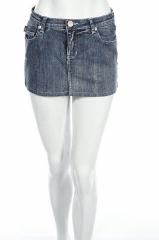 Пола Victoria Beckham for Rock & Republic, Размер XS, Цвят Син, 99% памук, 1% еластан, Цена 13,86лв.