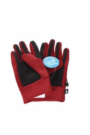 Ръкавици Columbia, Цвят Червен, 91% полиестер, 9% еластан, Цена 36,57лв.
